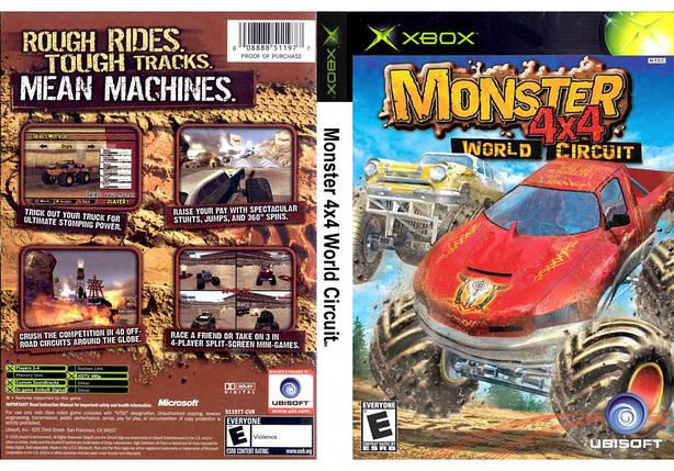 Гра для ігрової консолі Xbox, 4x4 Monster World Circuit, фото 2