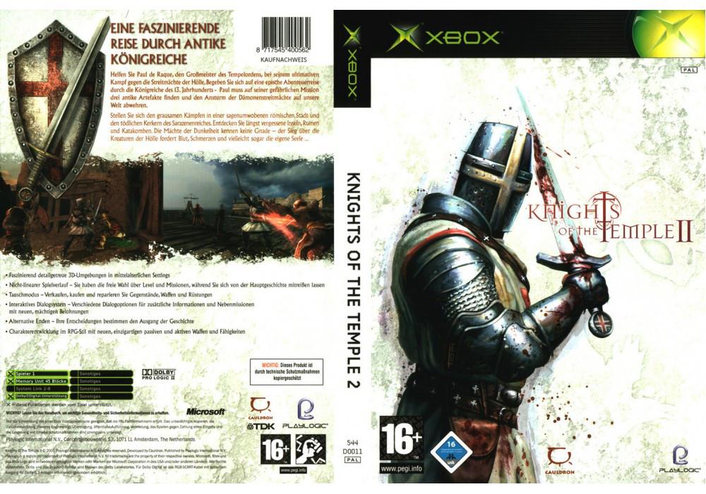 Игра для игровой консоли Xbox, Knights Of The Temple 2