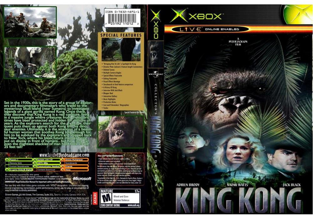 Игра для игровой консоли Xbox, King Kong