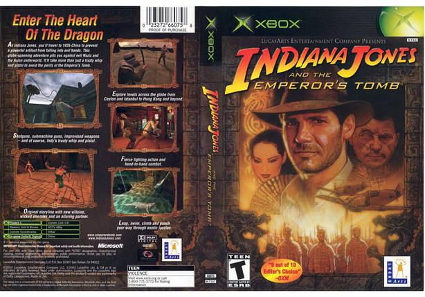 Игра для игровой консоли Xbox, Indiana Jones And The Emperors Tomb, фото 2