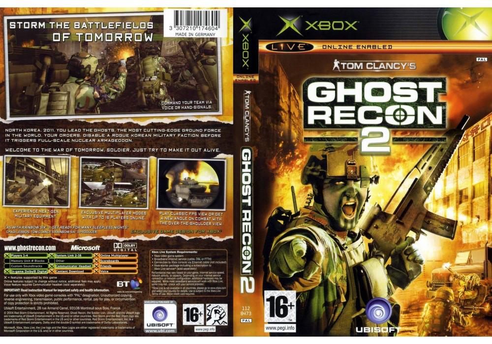 Игра для игровой консоли Xbox, Ghost Recon 2