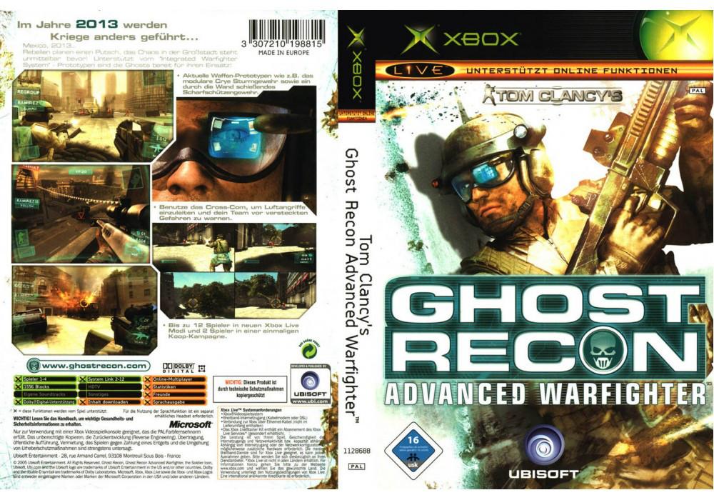 Игра для игровой консоли Xbox, Ghost Recon 3 Advanced Warfighter
