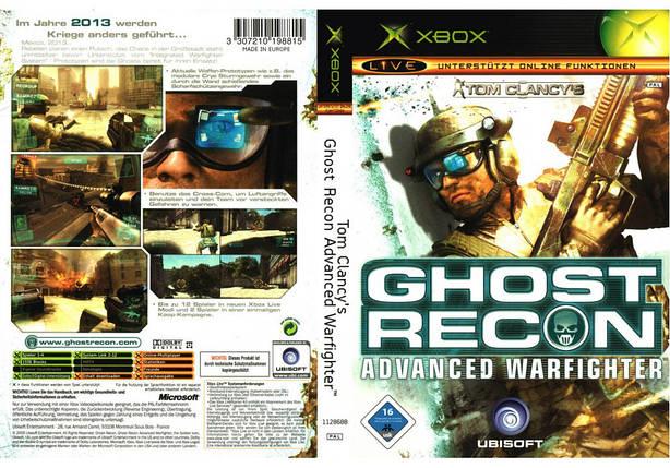Игра для игровой консоли Xbox, Ghost Recon 3 Advanced Warfighter, фото 2