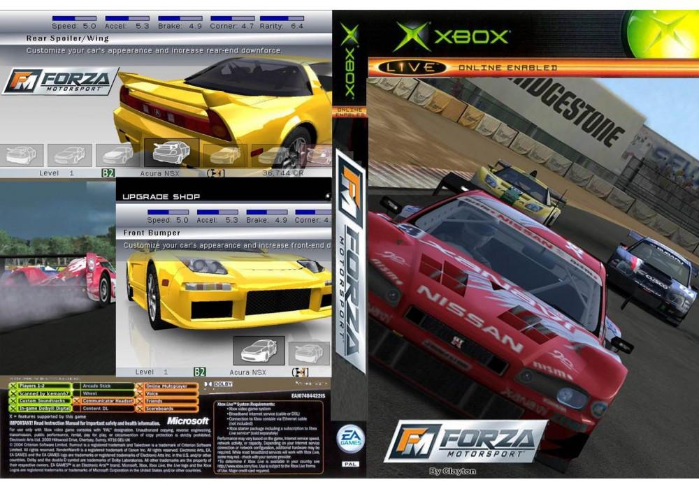 Игра для игровой консоли Xbox, Forza Motorsport