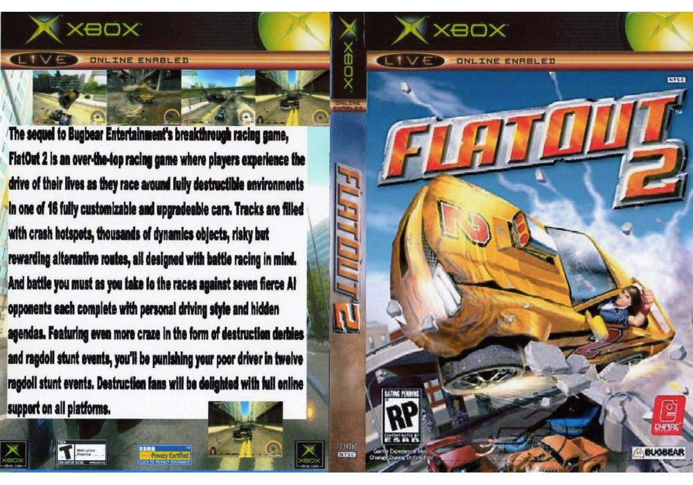 Игра для игровой консоли Xbox, FlatOut 2
