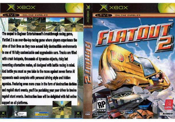 Игра для игровой консоли Xbox, FlatOut 2, фото 2