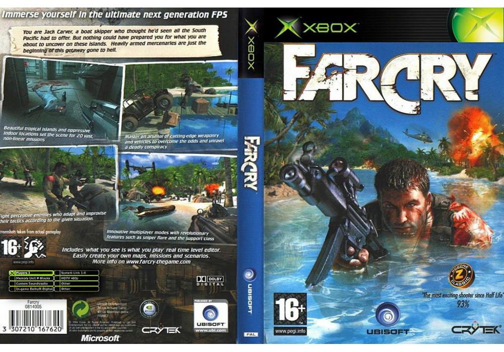 Игра для игровой консоли Xbox, Far Cry Instincts
