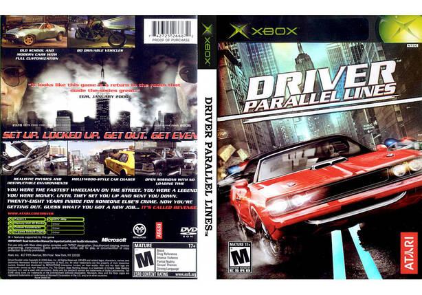 Игра для игровой консоли Xbox, Driver Parallel Lines, фото 2