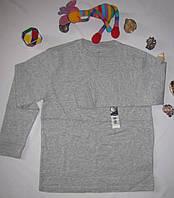 Футболка с длинными рукавами Faded Glory рост 116 см серая 07057, фото 1