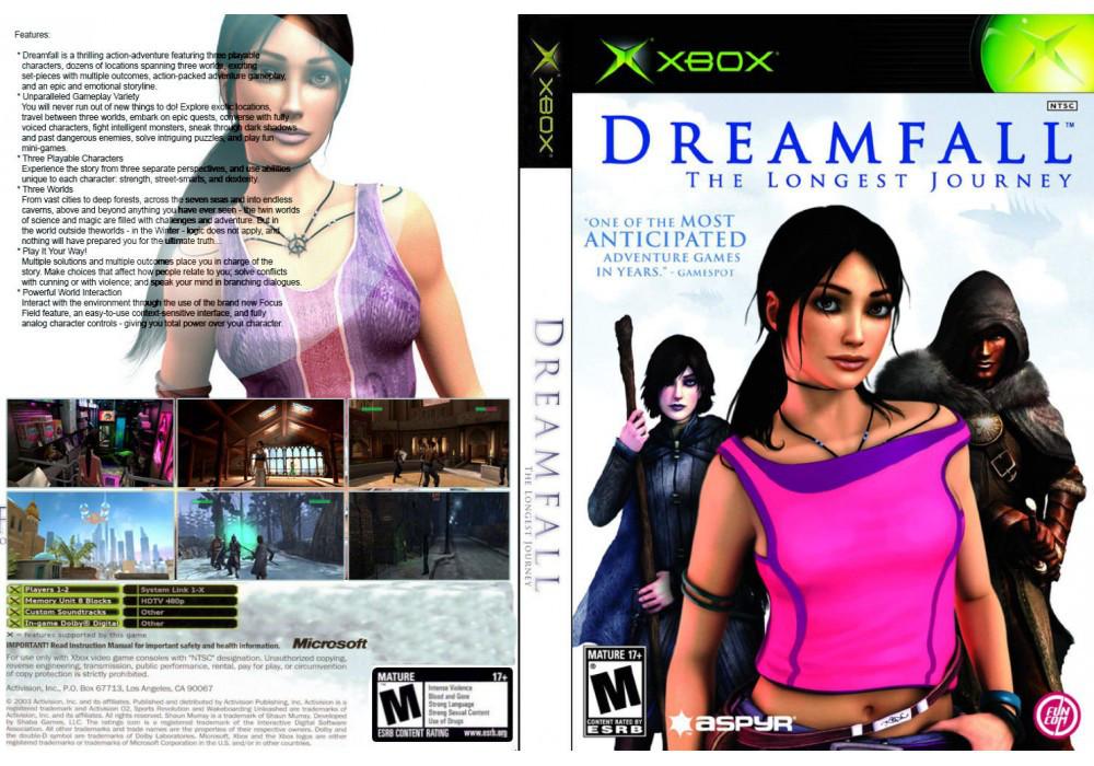 Игра для игровой консоли Xbox, Dreamfall The Longest Journey