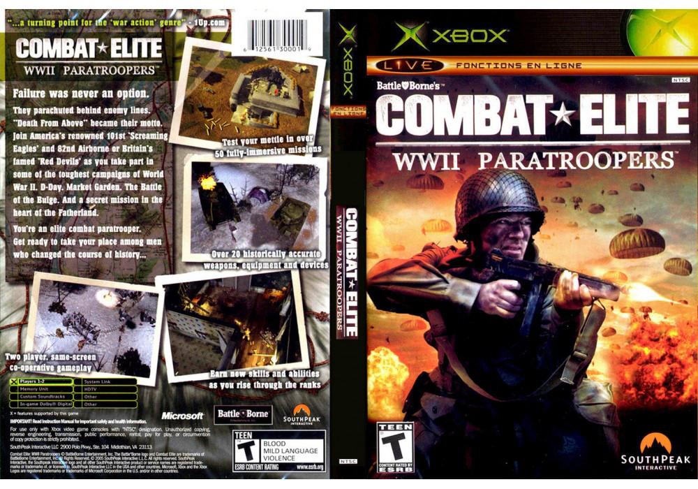 Игра для игровой консоли Xbox, Combat Elite Wwii Paratroopers