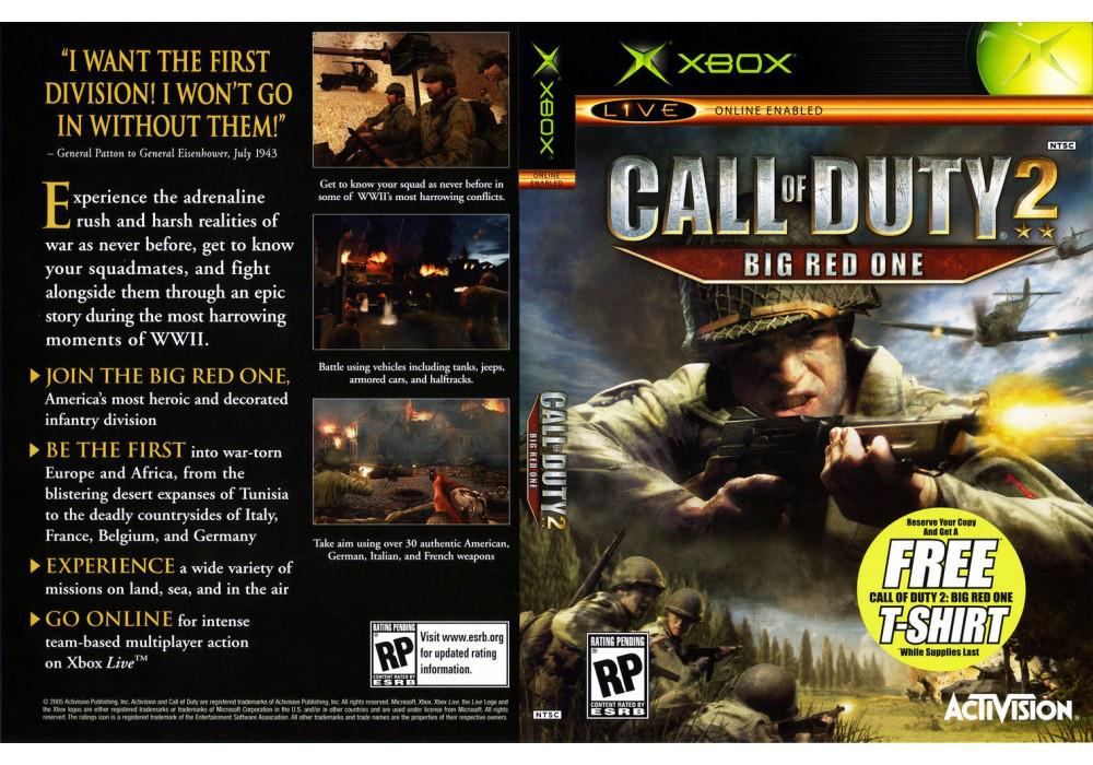 Игра для игровой консоли Xbox, Call Of Duty 2 Big Red One