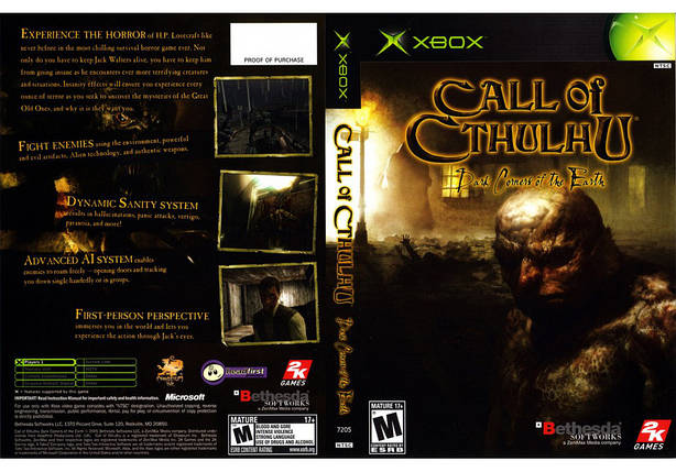 Игра для игровой консоли Xbox, Call Of Cthulhu Dark Corners Of The Earth, фото 2