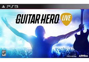 Игра для игровой консоли PlayStation 3, Guitar Hero Live PS3
