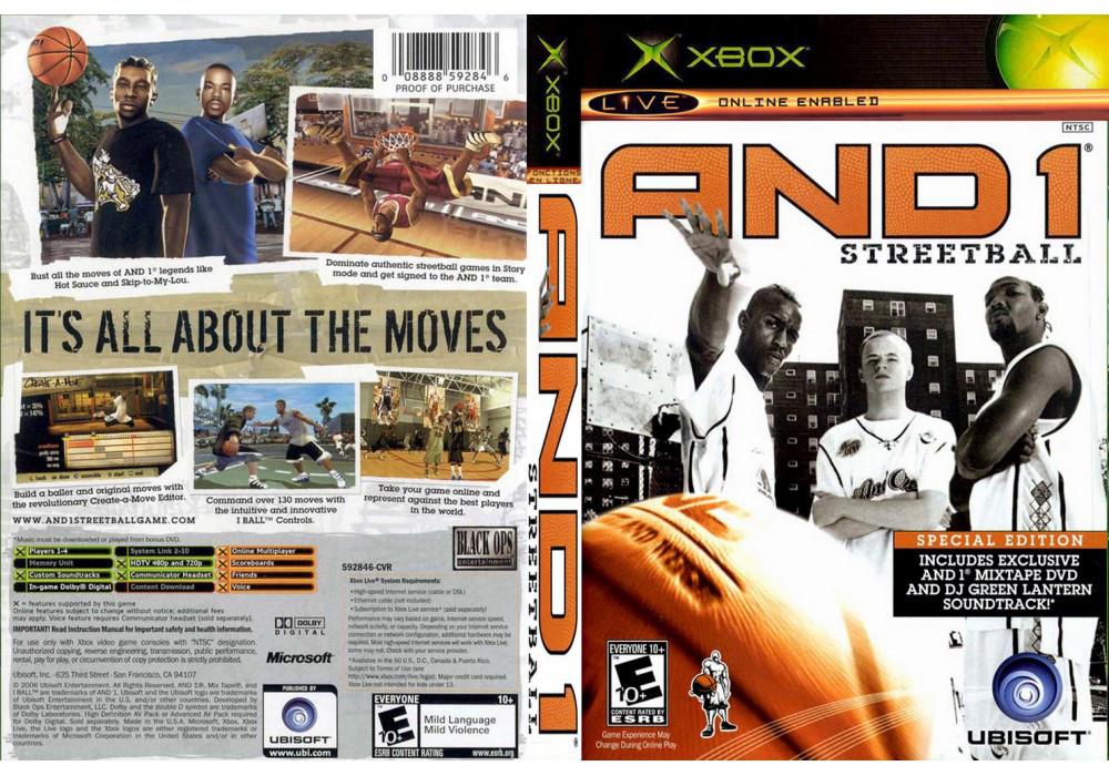 Игра для игровой консоли Xbox, And 1 Streetball