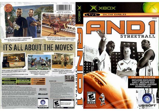 Игра для игровой консоли Xbox, And 1 Streetball, фото 2
