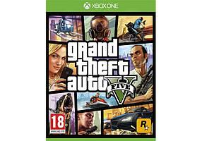 Игра для игровой консоли Xbox One, Grand Theft Auto 5 (БУ, англ)