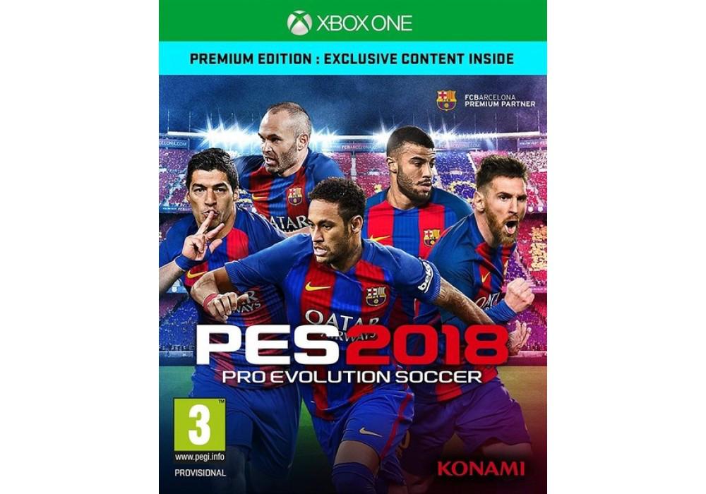 Игра для игровой консоли Xbox One, Pro Evolution Soccer (PES) 2018 - Premium Edition (Xbox One)