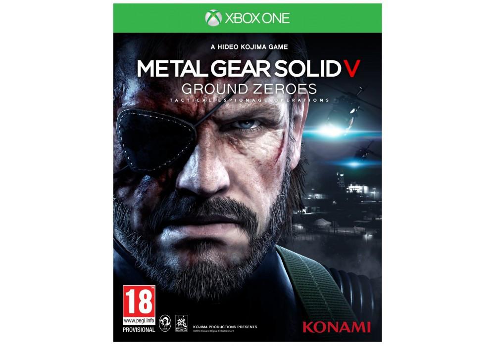 Игра для игровой консоли Xbox One, Metal Gear Solid V: Ground Zeroes