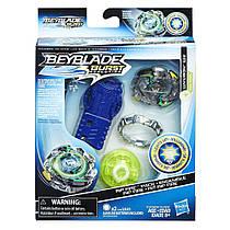 Бейблейд волчок Вайврон со световыми эффектами и пусковым устройством Beyblade Burst Evolution Wyvron W2