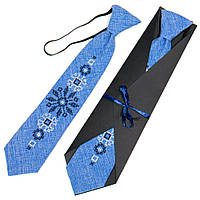 Детский вышитый галстук. 4 цвета!, фото 1