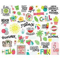 Висічки - Hello Summer - Simple Stories