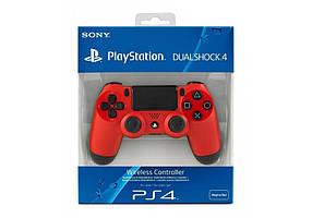 Джойстик PS4 Dualshock 4 V2 Red