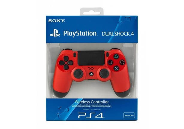 Джойстик PS4 Dualshock 4 V2 Red, фото 2