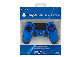 Джойстик PS4 Dualshock 4 V2 Blue