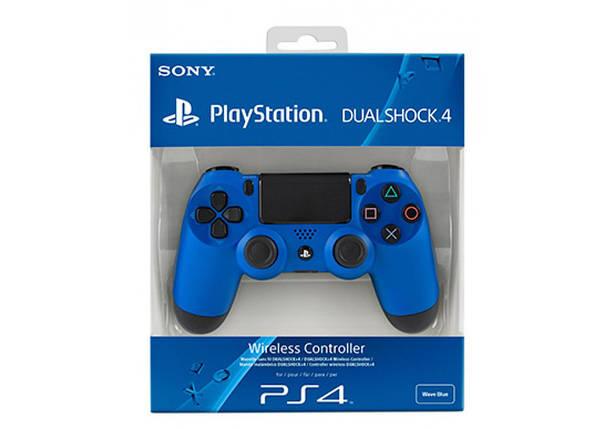 Джойстик PS4 Dualshock 4 V2 Blue, фото 2