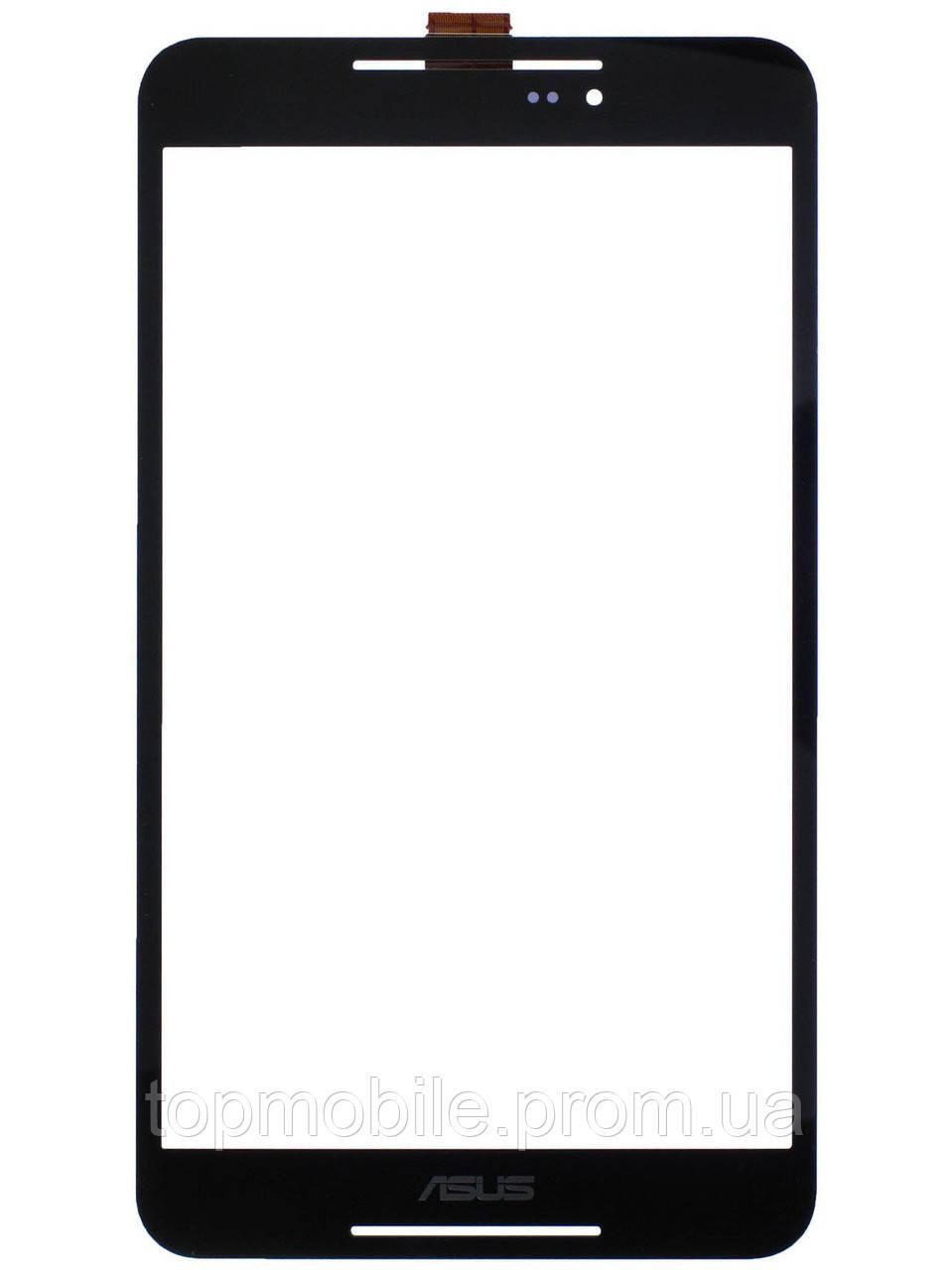Тачскрин Asus FE380CG FonePad 8, черный (сенсор, стекло)