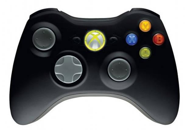 Геймпад (Xbox 360, оригинальный, беспроводной, черный), фото 2