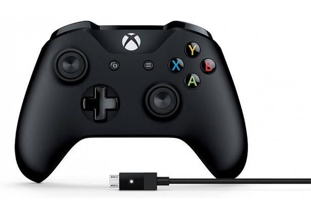Microsoft Xbox One Wireless Controller Black, фото 2