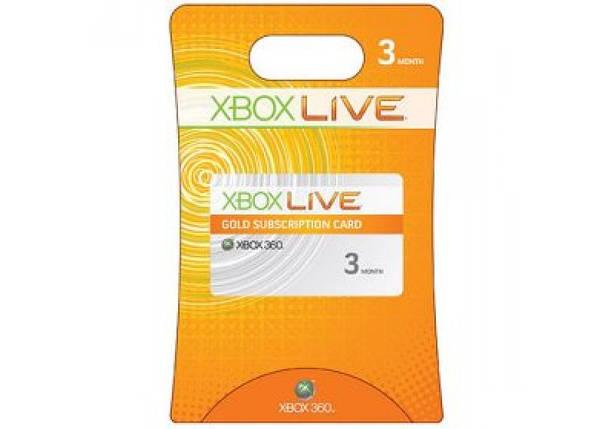 Карточка пополнения баланса Xbox Live! (3 месяца), фото 2