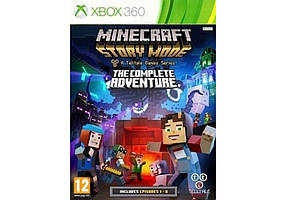 Игра для игровой консоли Xbox 360, Minecraft: Story Mode - The Complete Adventure
