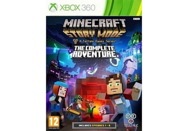 Игра для игровой консоли Xbox 360, Minecraft: Story Mode - The Complete Adventure, фото 2