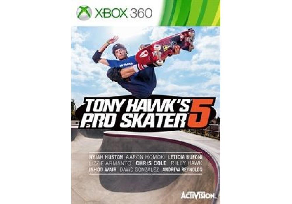 Игра для игровой консоли Xbox 360, Tony Hawk's Pro Skater 5 (Xbox 360)
