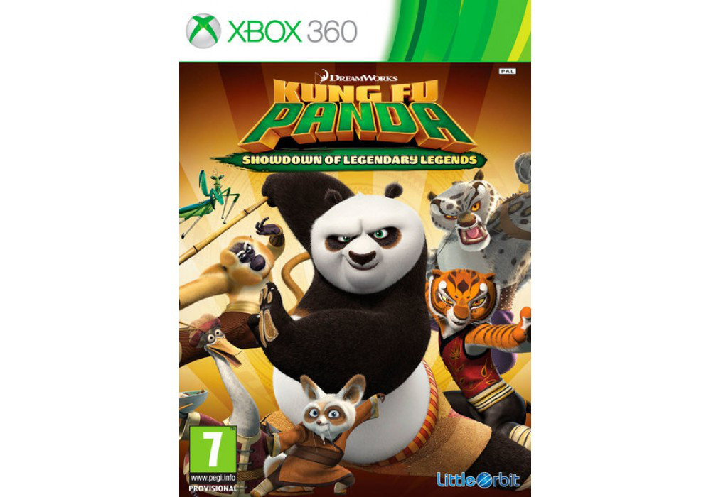 Игра для игровой консоли Xbox 360, Kung Fu Panda: Showdown of Legendary Legends (Xbox 360)