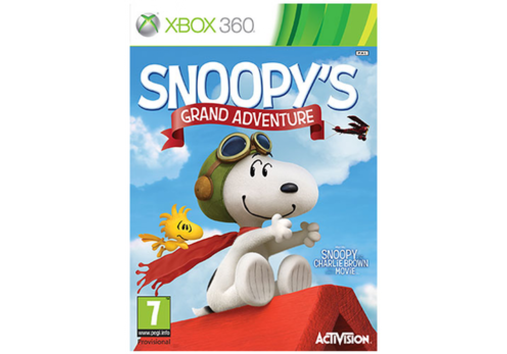 Игра для игровой консоли Xbox 360, The Peanuts Movie: Snoopy's Grand Adventure