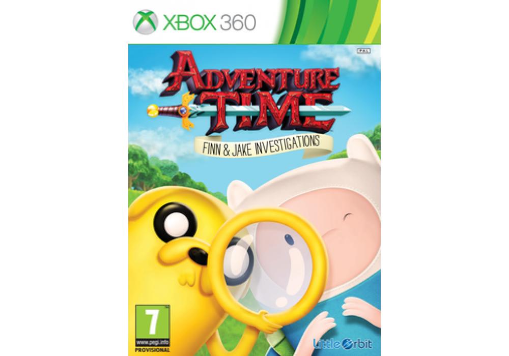 Игра для игровой консоли Xbox 360, Adventure Time: Finn and Jake Investigations