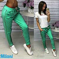 Спортивные штаны женские большие размеры (цвета) ИГ071