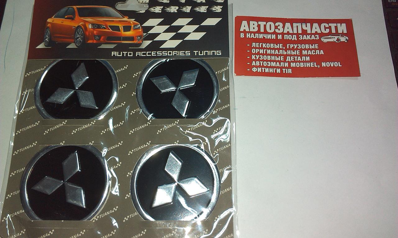 Наклейка на колісний диск Mitsubishi