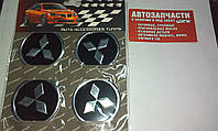 Наклейка на колесный диск/колпак Mitsubishi