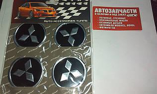 Наклейка на колесный диск Mitsubishi