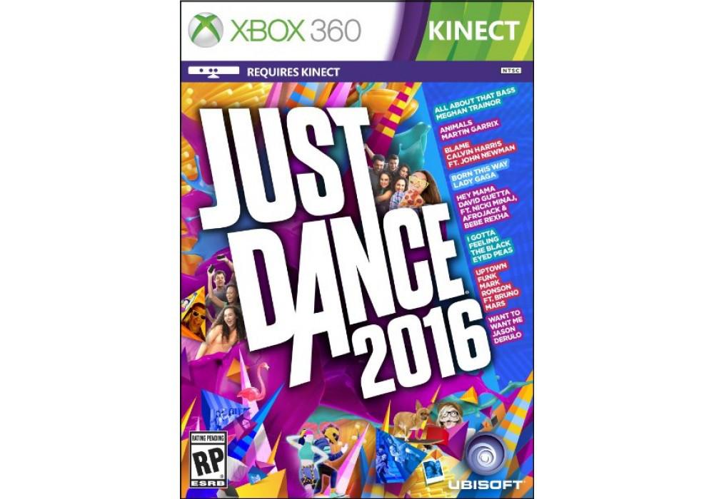 Игра для игровой консоли Xbox 360, Just Dance 2016 [Kinect]