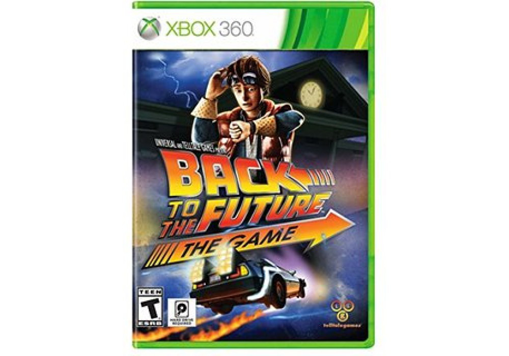 Игра для игровой консоли Xbox 360, Back to the Future: The Game - 30th Anniversary Edition