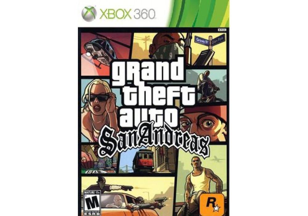 Игра для игровой консоли Xbox 360, Grand Theft Auto: San Andreas (HD Edition)