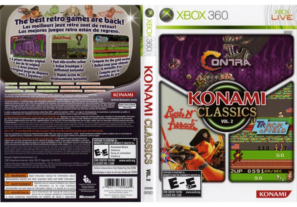 Игра для игровой консоли Xbox 360, Konami Classics Volume 2