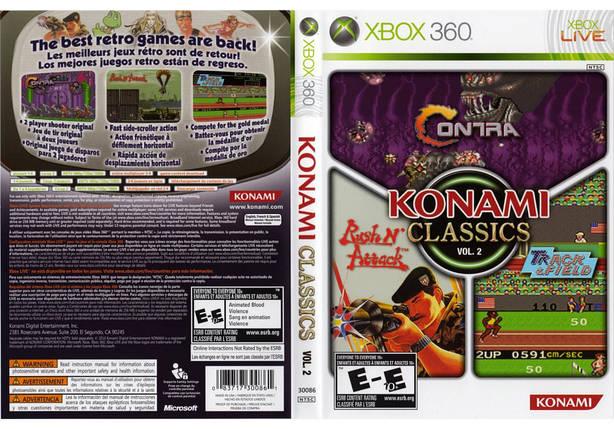 Игра для игровой консоли Xbox 360, Konami Classics Volume 2, фото 2