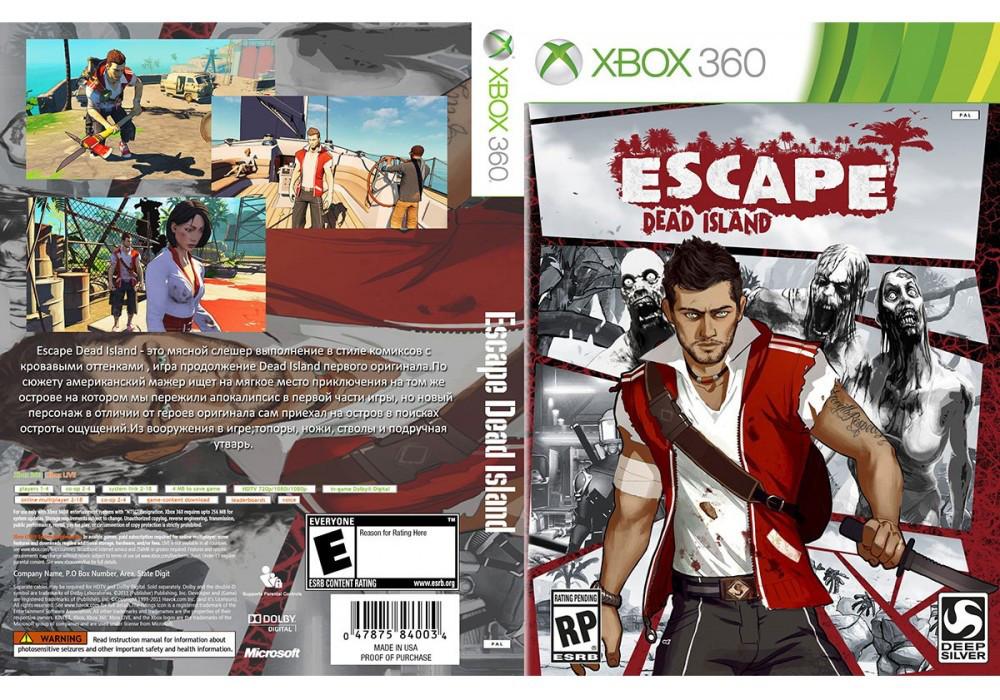Игра для игровой консоли Xbox 360, Escape Dead Island
